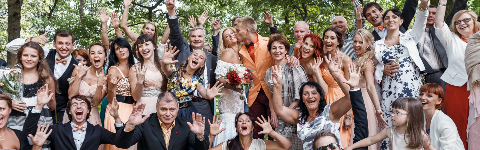 Веселая зажигательная свадьба в Летнем дворце