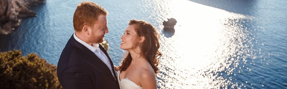 Свадьба Юли и Саши на острове Сардиния, Италия